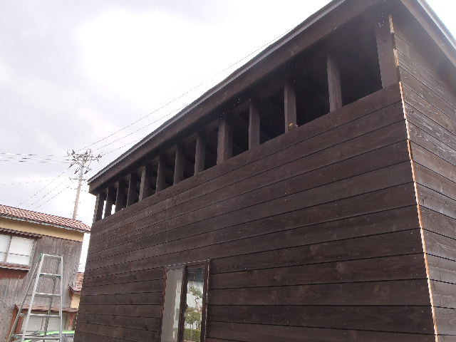 木造ガレージを造る  続き _f0105112_4342910.jpg