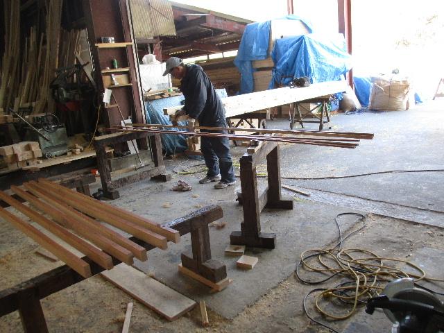 木造ガレージを造る  続き _f0105112_4393326.jpg