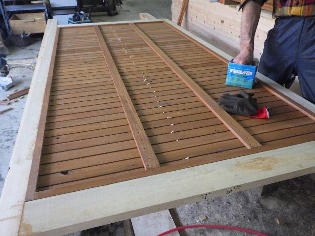 木造ガレージを造る  続き _f0105112_4422165.jpg