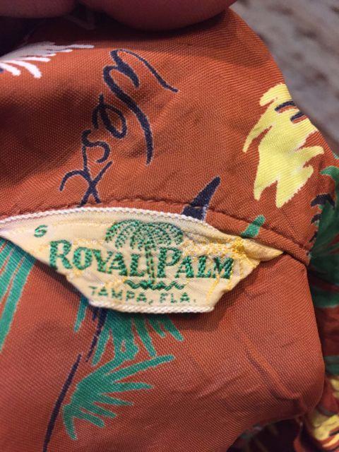 6月3日(土)入荷!50s ROAYAL PALM   RAYON HAWAIIAN !_c0144020_15321510.jpg