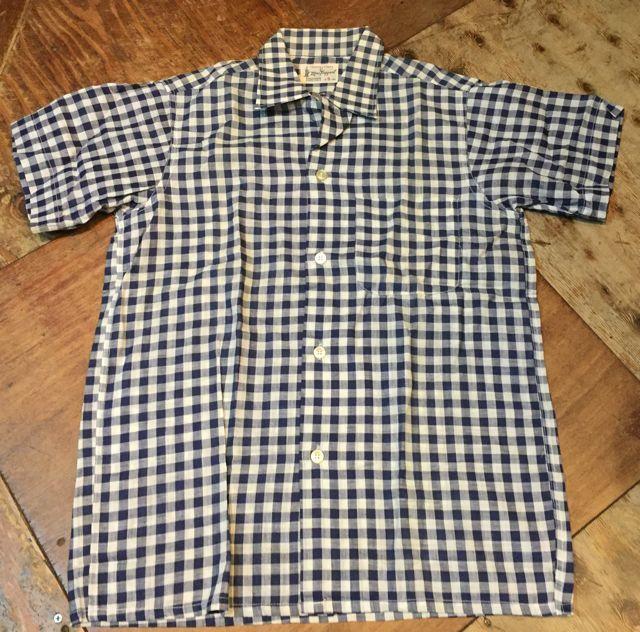 6月3日(土)入荷!デッドストック 60s Mac Taggart ギンガム チェック シャツ!_c0144020_16112510.jpg
