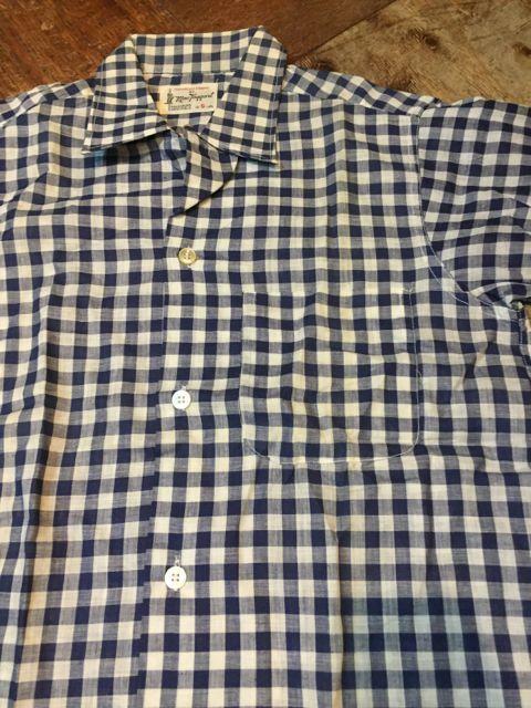 6月3日(土)入荷!デッドストック 60s Mac Taggart ギンガム チェック シャツ!_c0144020_16115598.jpg