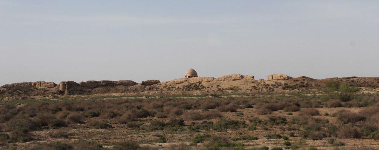 トルクメニスタンの旅(18) メルブ遺跡 エルク・カラ、グヤウル・カラ_c0011649_13431701.jpg