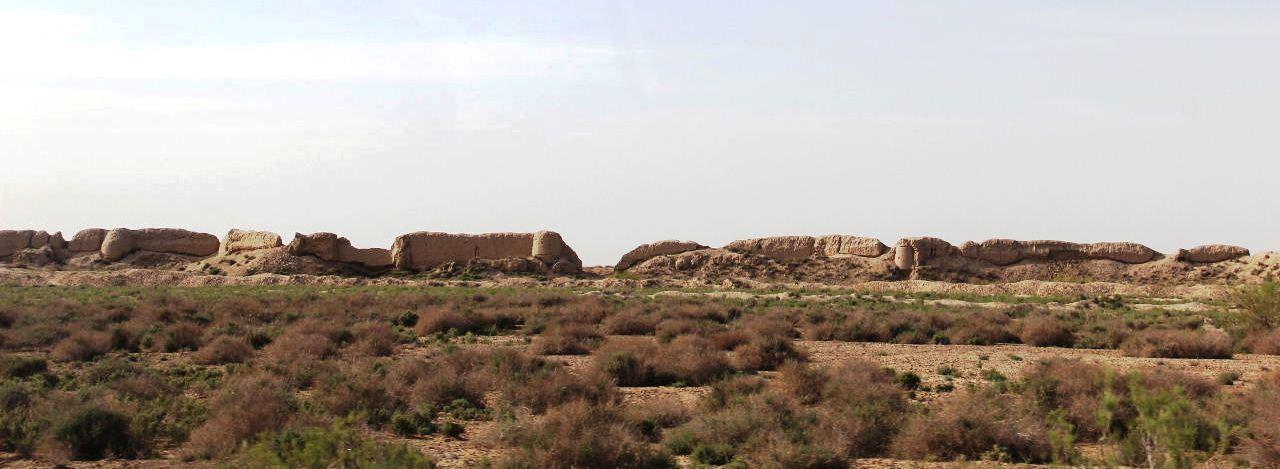 トルクメニスタンの旅(18) メルブ遺跡 エルク・カラ、グヤウル・カラ_c0011649_13434952.jpg