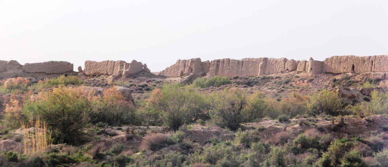 トルクメニスタンの旅(18) メルブ遺跡 エルク・カラ、グヤウル・カラ_c0011649_13503549.jpg