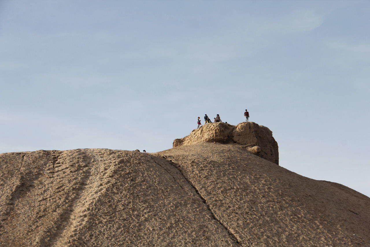 トルクメニスタンの旅(18) メルブ遺跡 エルク・カラ、グヤウル・カラ_c0011649_20302274.jpg