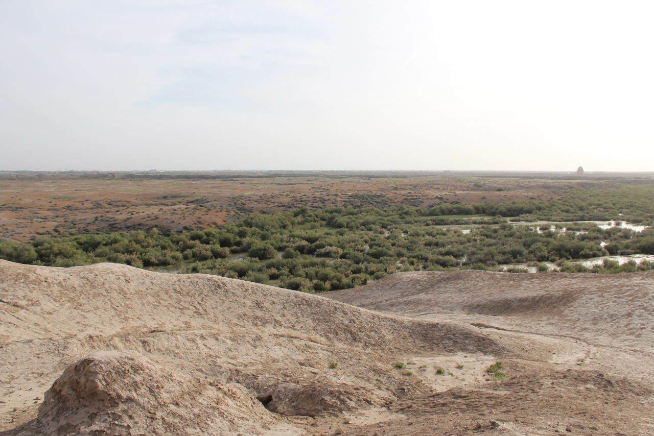 トルクメニスタンの旅(18) メルブ遺跡 エルク・カラ、グヤウル・カラ_c0011649_20334054.jpg