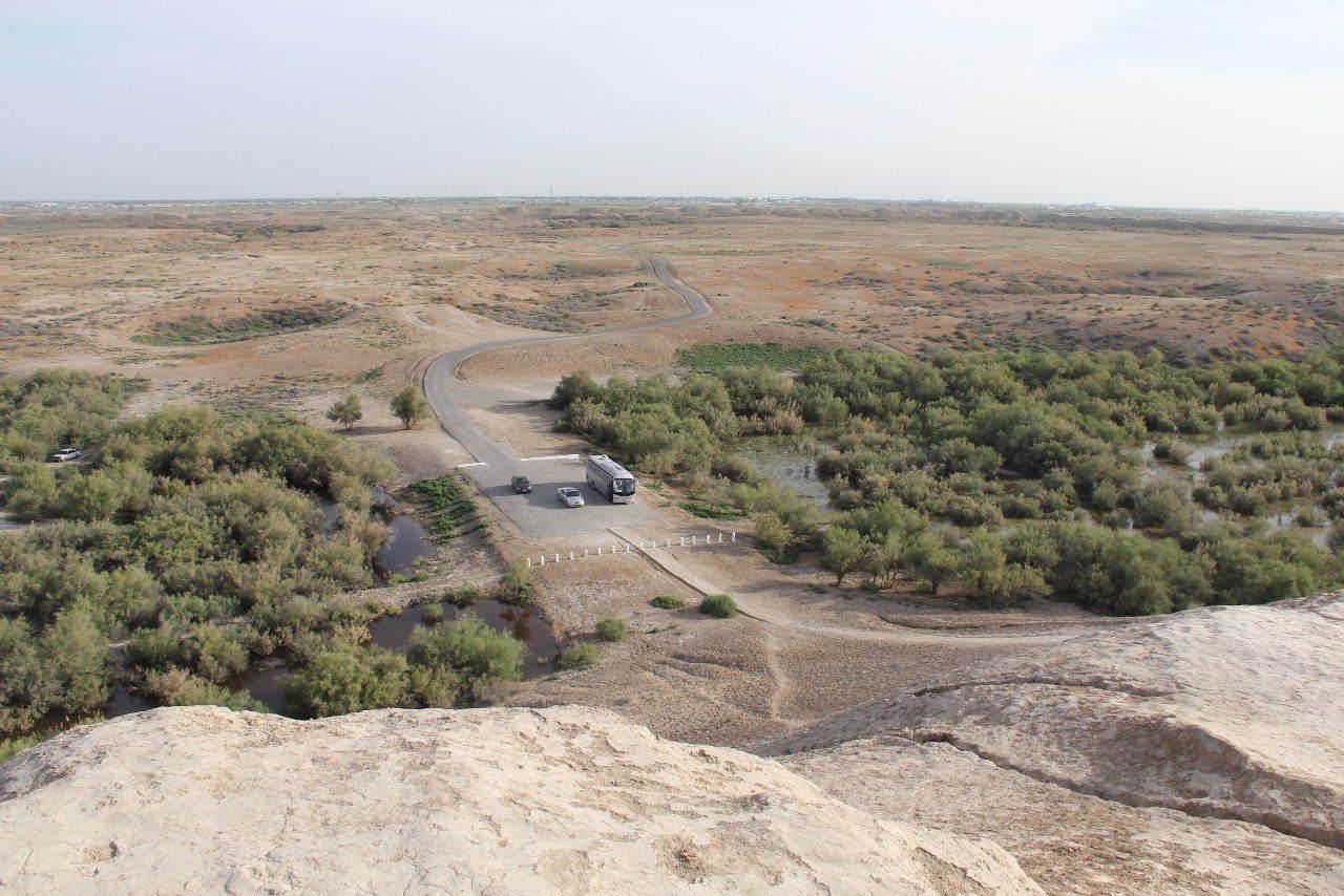 トルクメニスタンの旅(18) メルブ遺跡 エルク・カラ、グヤウル・カラ_c0011649_20360615.jpg