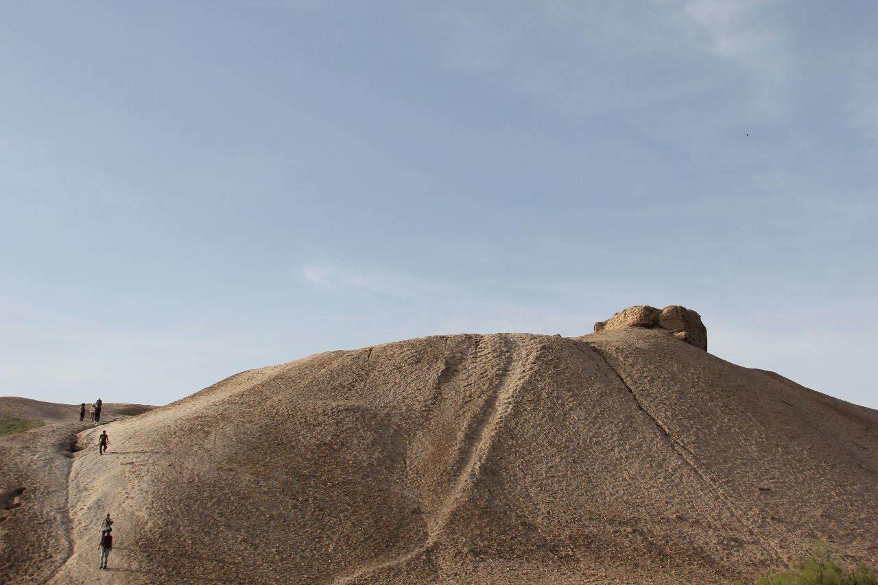トルクメニスタンの旅(18) メルブ遺跡 エルク・カラ、グヤウル・カラ_c0011649_22483947.jpg