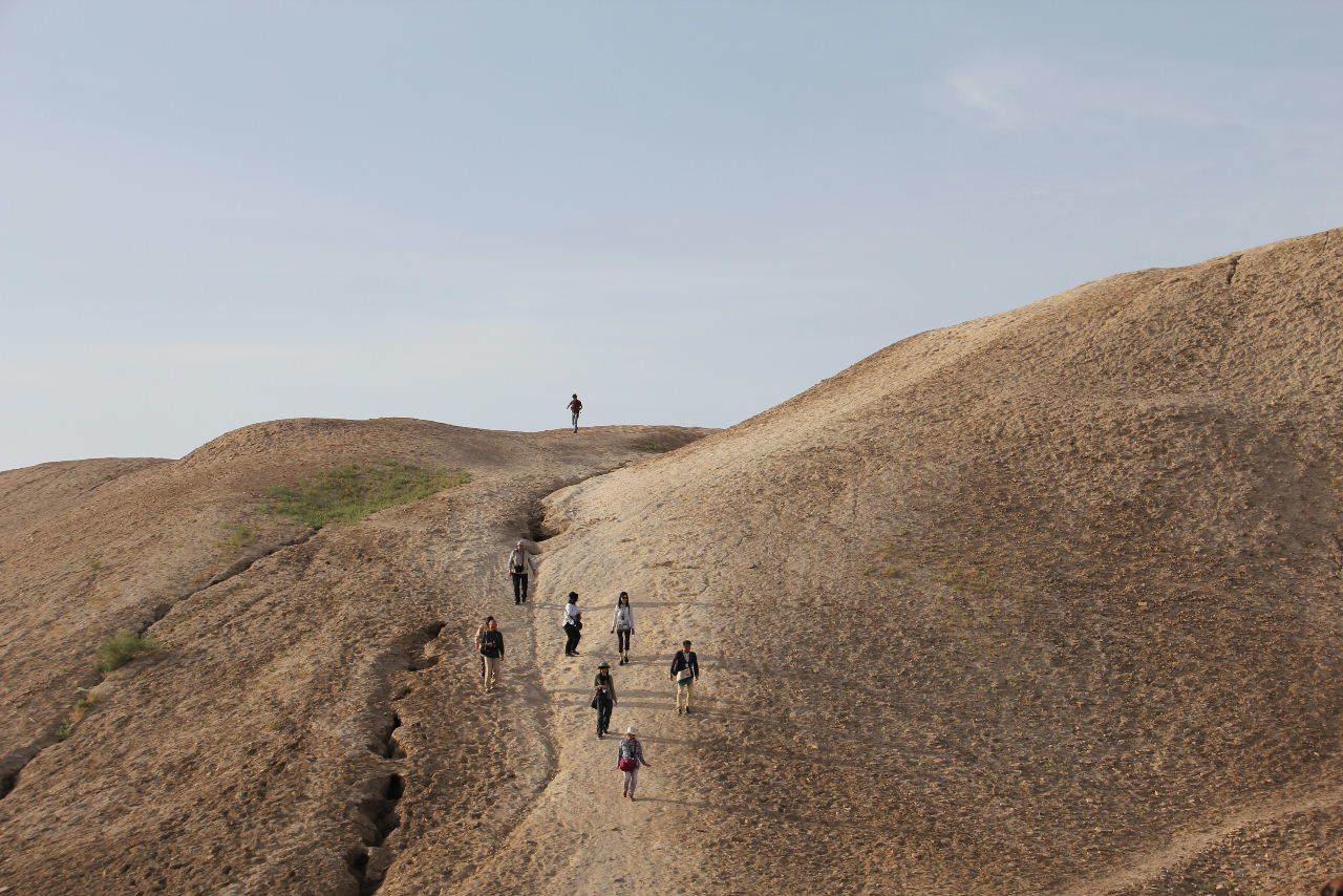 トルクメニスタンの旅(18) メルブ遺跡 エルク・カラ、グヤウル・カラ_c0011649_22490224.jpg