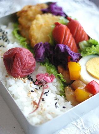 今日の白身魚フライ弁当とお弁当作りのコツ_d0327373_07203168.jpg