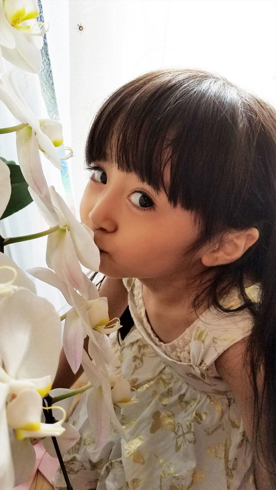 「お花さんおはよう。今日も、綺麗ね♡」算数や文字、そして色んなお勉強。_d0224894_11392651.jpg