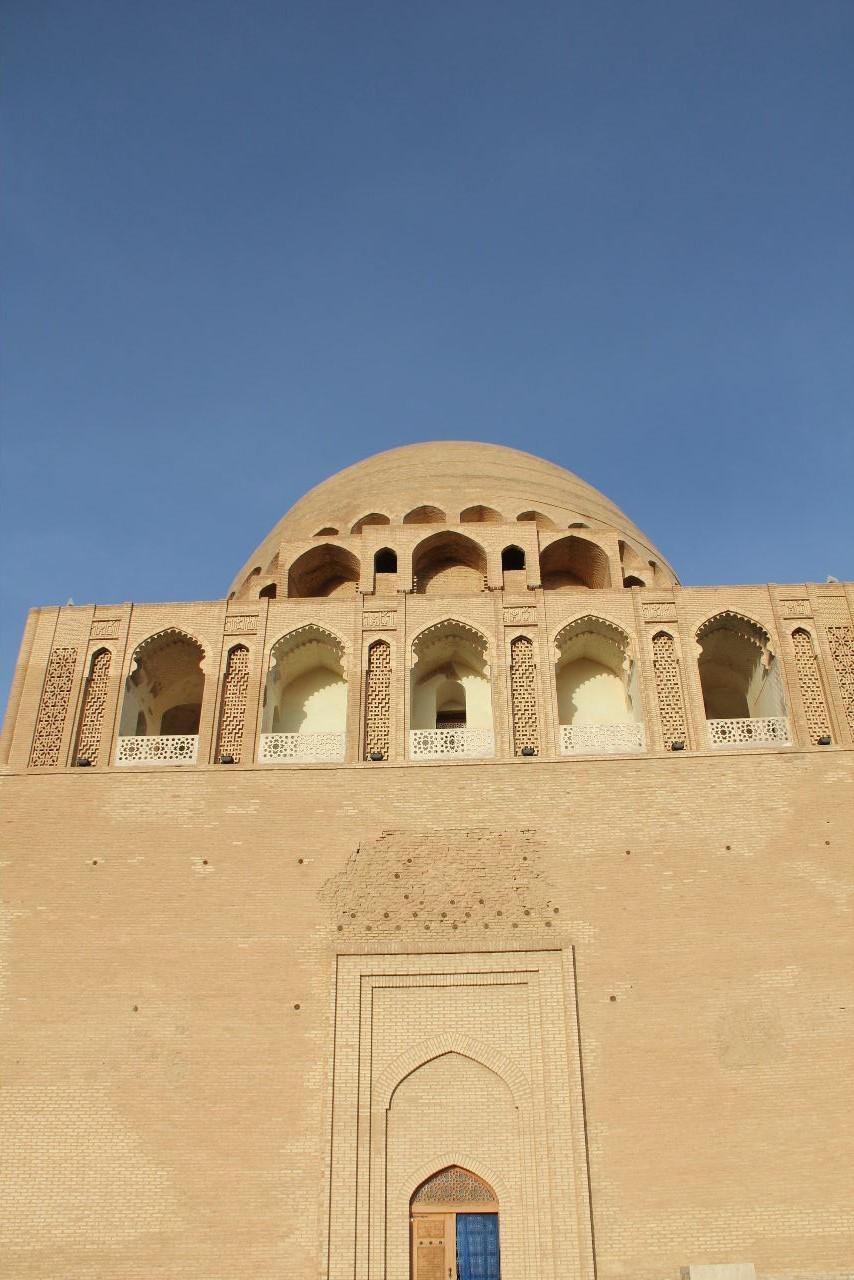 トルクメニスタンの旅(19) メルブ遺跡 スルタン・サンジャール廟_c0011649_07142821.jpg