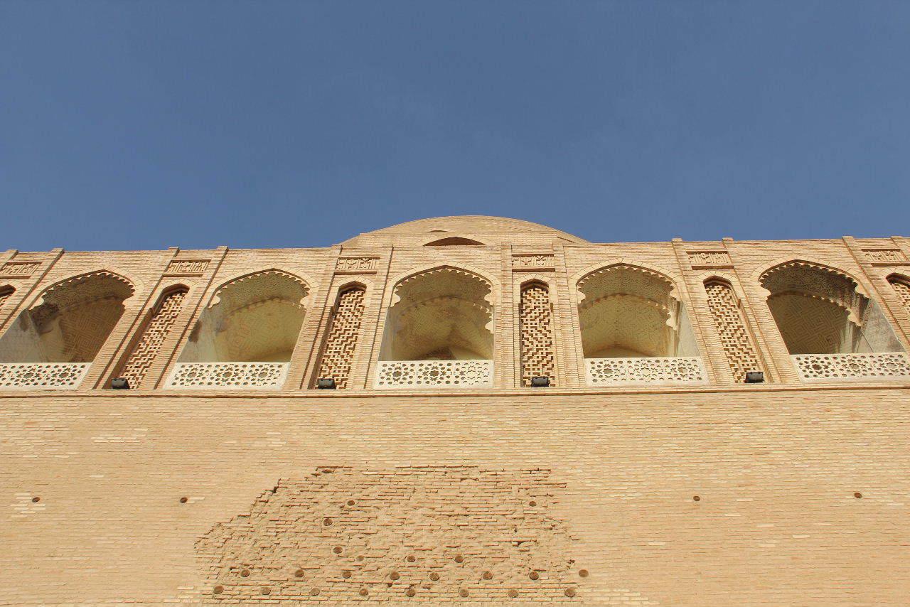 トルクメニスタンの旅(19) メルブ遺跡 スルタン・サンジャール廟_c0011649_07145430.jpg