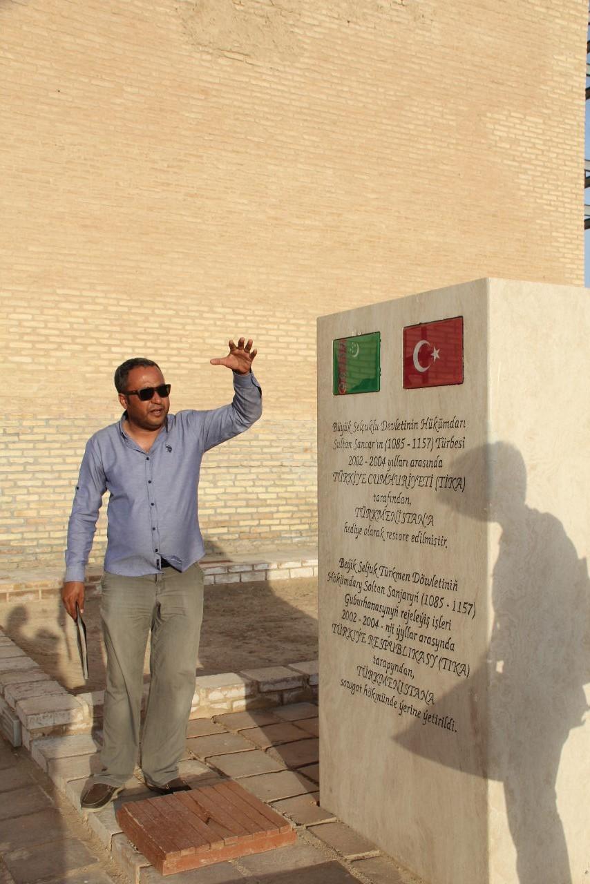 トルクメニスタンの旅(19) メルブ遺跡 スルタン・サンジャール廟_c0011649_07151395.jpg
