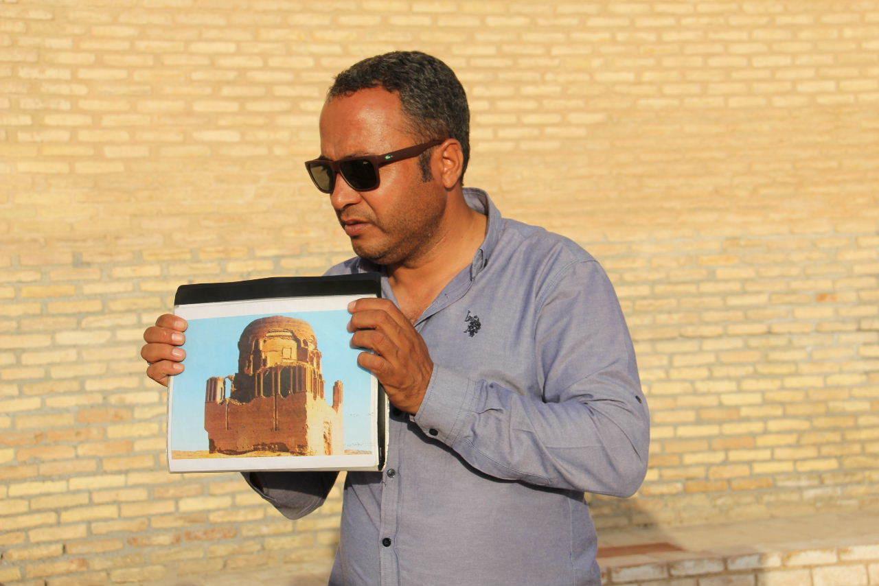トルクメニスタンの旅(19) メルブ遺跡 スルタン・サンジャール廟_c0011649_07152949.jpg