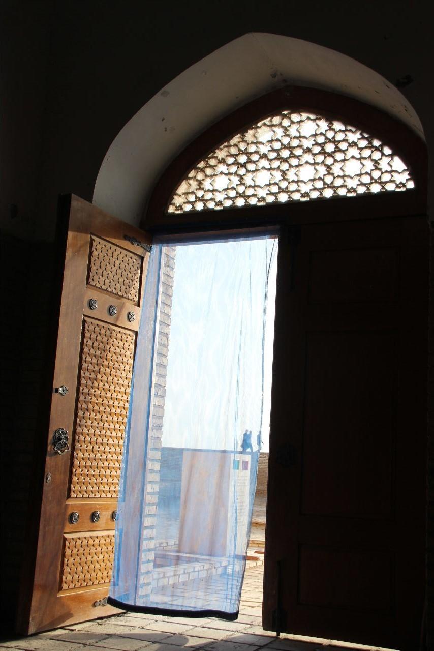 トルクメニスタンの旅(19) メルブ遺跡 スルタン・サンジャール廟_c0011649_07314764.jpg
