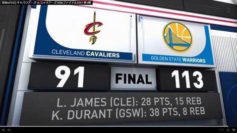 NBAファイナルはじまる、日本ハム3連勝、インディカーも_d0183174_09454024.jpg