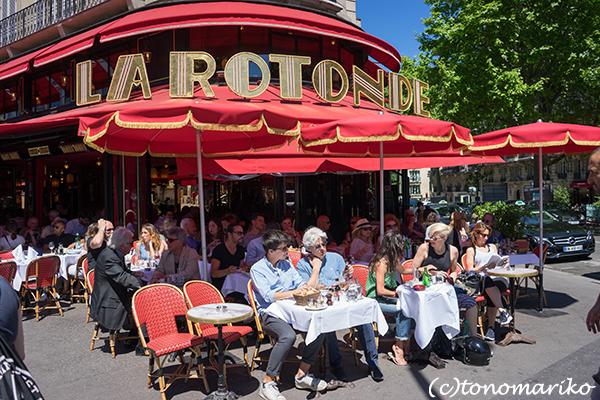 パリの老舗カフェ「ラ・ロトンド」_c0024345_06471856.jpg