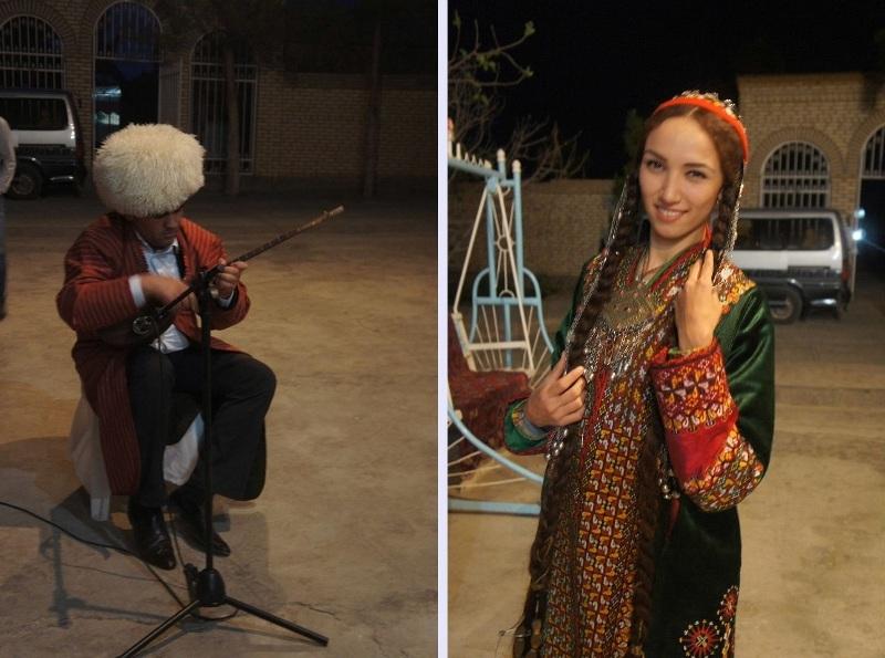 トルクメニスタンの旅(20) マリィの民家で夕食と民族舞踊の宴_c0011649_04421539.jpg