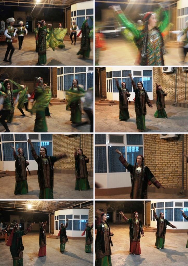 トルクメニスタンの旅(20) マリィの民家で夕食と民族舞踊の宴_c0011649_04423158.jpg