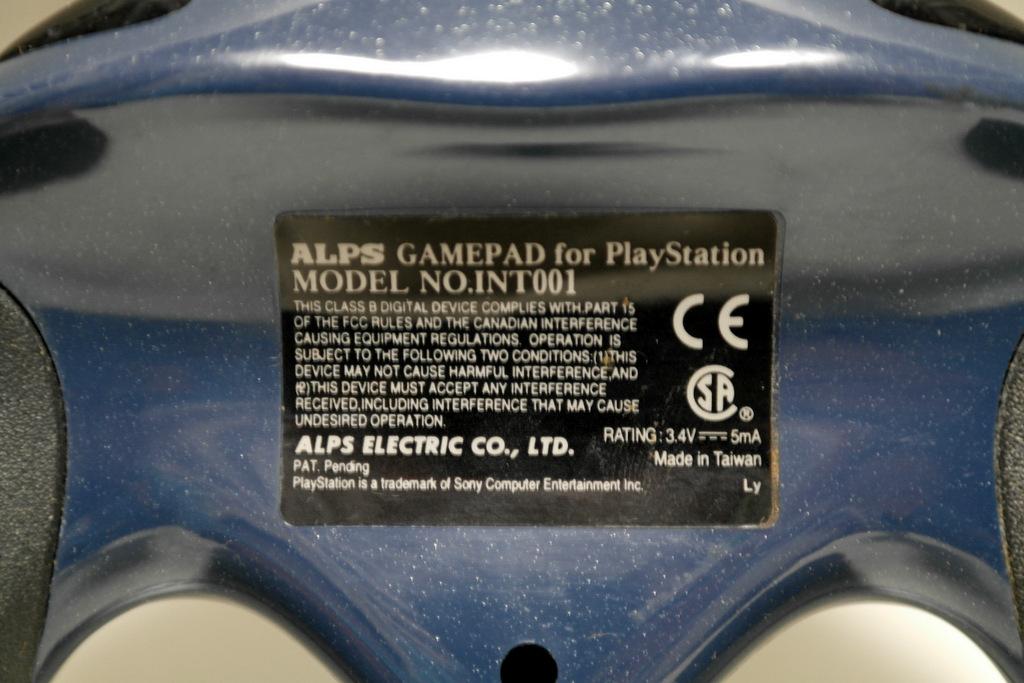 【レビュー】ALPS GAMEPAD for PlayStation INT001_c0004568_21231348.jpg