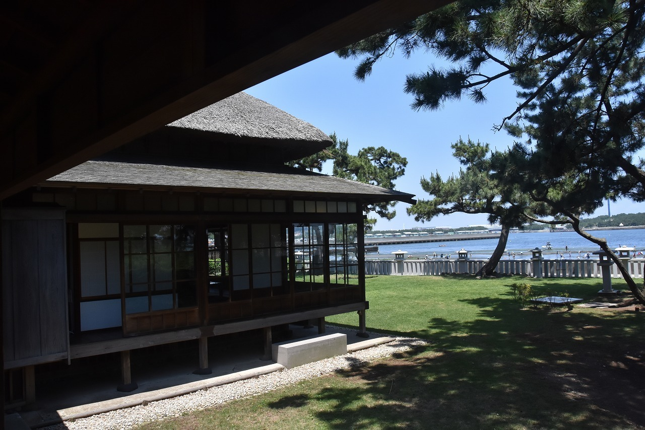 伊藤博文別邸と野島公園_d0065116_20225636.jpg