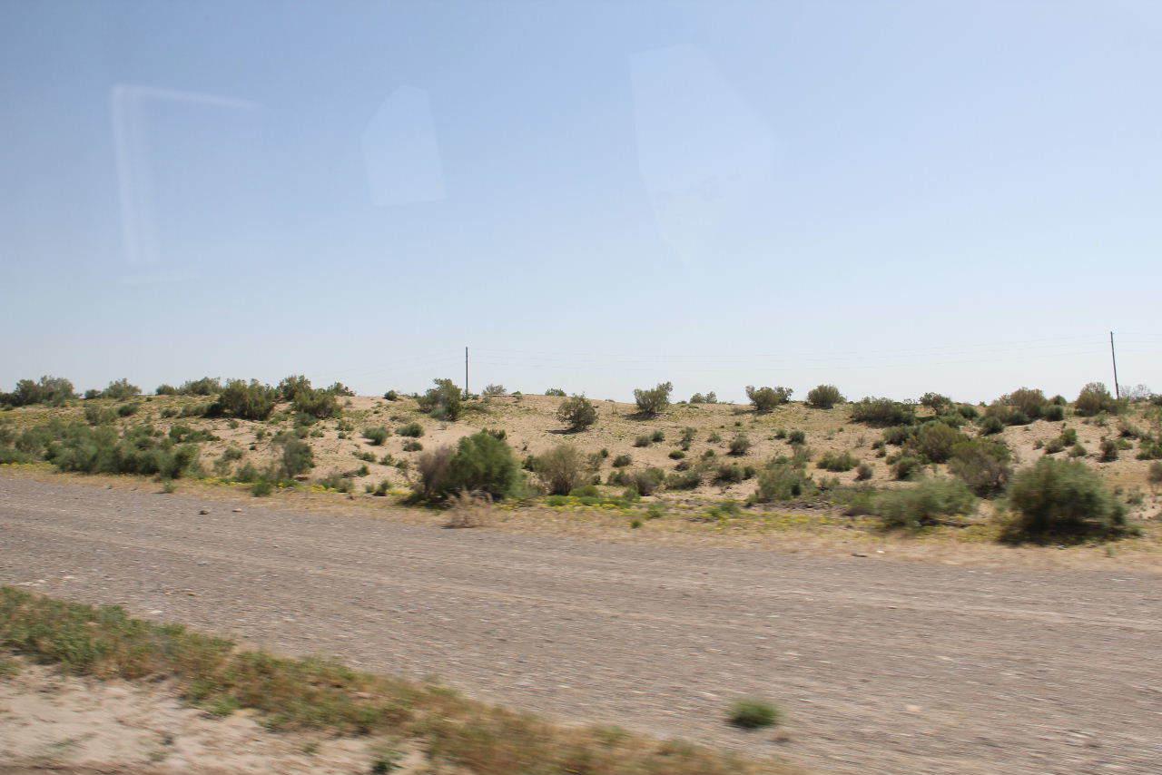 トルクメニスタンの旅(21) マリィからウズベキスタンのブハラへ移動_c0011649_13362957.jpg