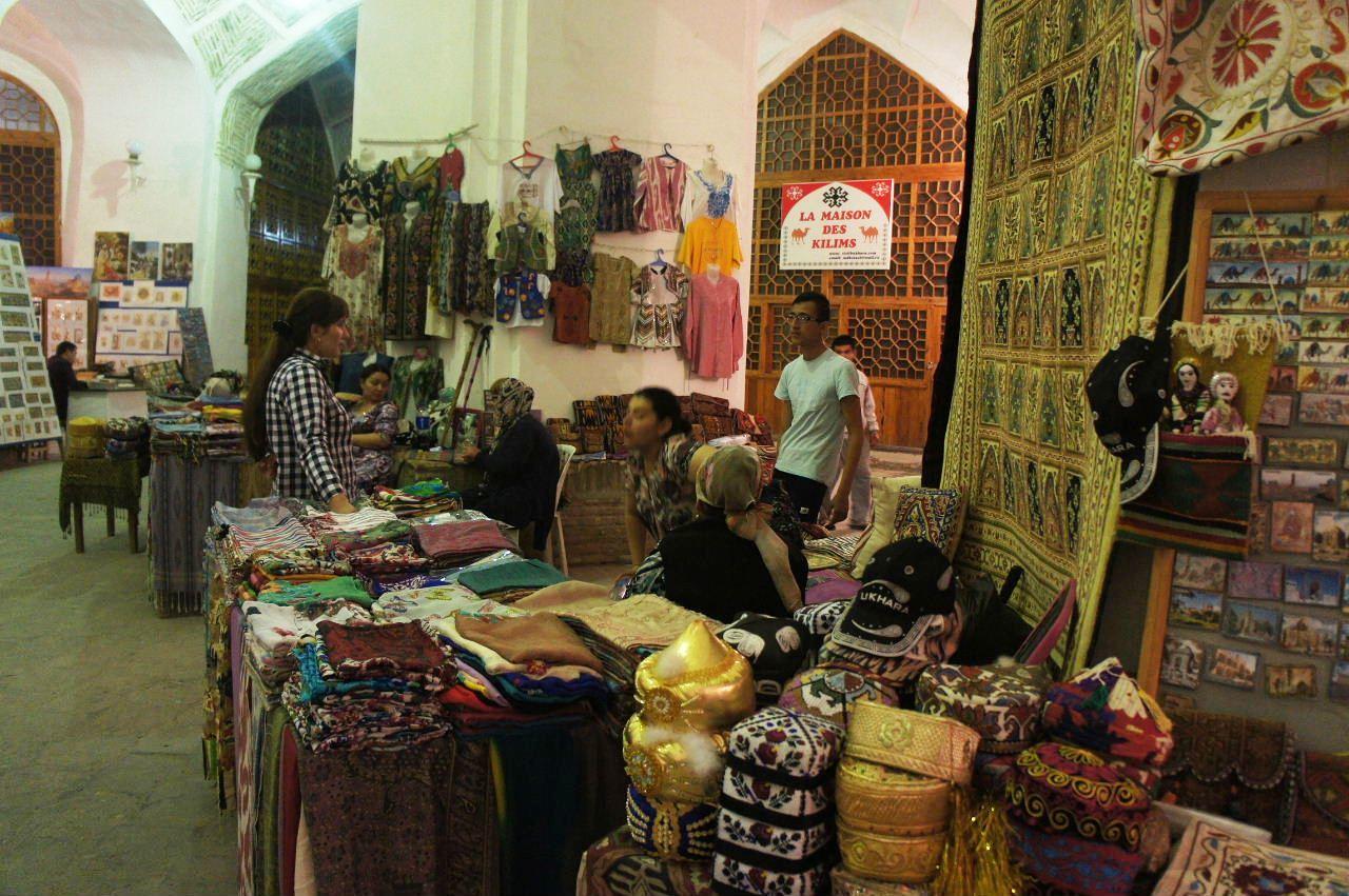 トルクメニスタンの旅(21) マリィからウズベキスタンのブハラへ移動_c0011649_21232943.jpg