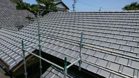 屋根リフォーム 完了~K様邸_d0172085_09572070.jpg