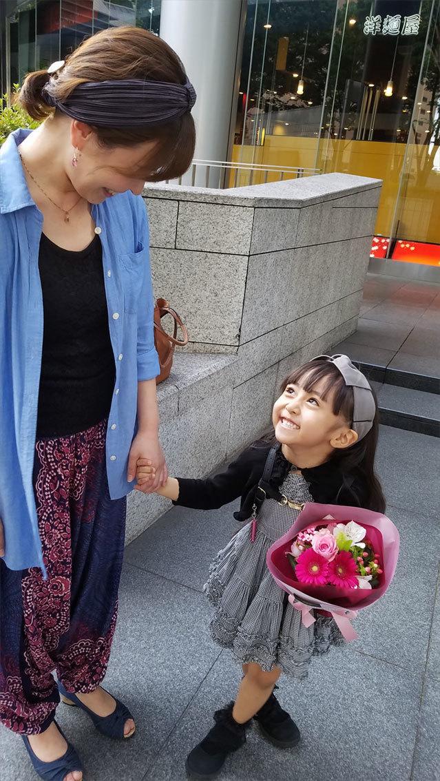 娘の最初のお歌の先生は…再会叶った香織ちゃん♡_d0224894_10294673.jpg