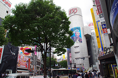 6月6日(火)今日の渋谷109前交差点_b0056983_22341081.jpg