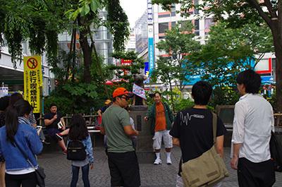 6月6日(火)今日の渋谷109前交差点_b0056983_22341138.jpg