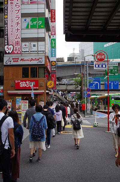 6月6日(火)今日の渋谷109前交差点_b0056983_22341174.jpg