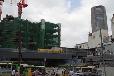 6月6日(火)今日の渋谷109前交差点_b0056983_22345294.jpg