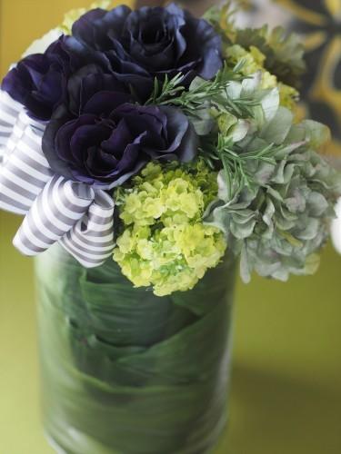 【Blue/Green/Anniversary/Glass vase】_d0144095_09193390.jpg