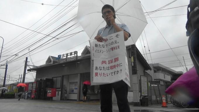 街頭演説@古市橋駅前 「「官僚主導」か?「政治主導」か?」ではなく主権者国民による権力監視が重要_e0094315_14430714.jpg