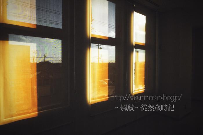 西日射す窓辺。_f0235723_20192142.jpg