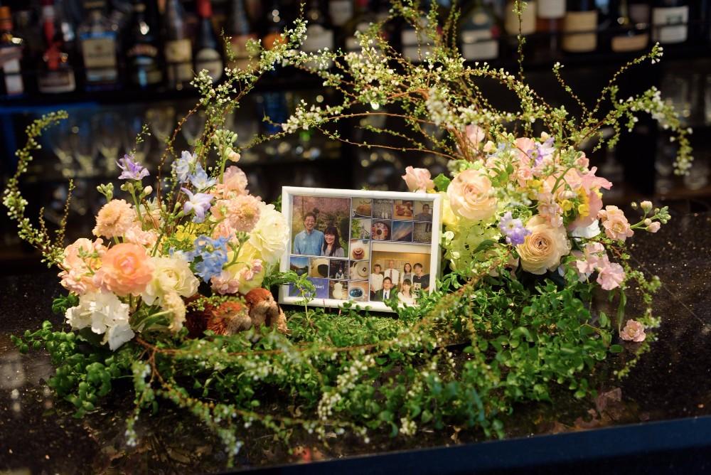 新郎新婦様からのメール 春の装花 FEU様へ 1 春の幸せな一日へ_a0042928_212493.jpg