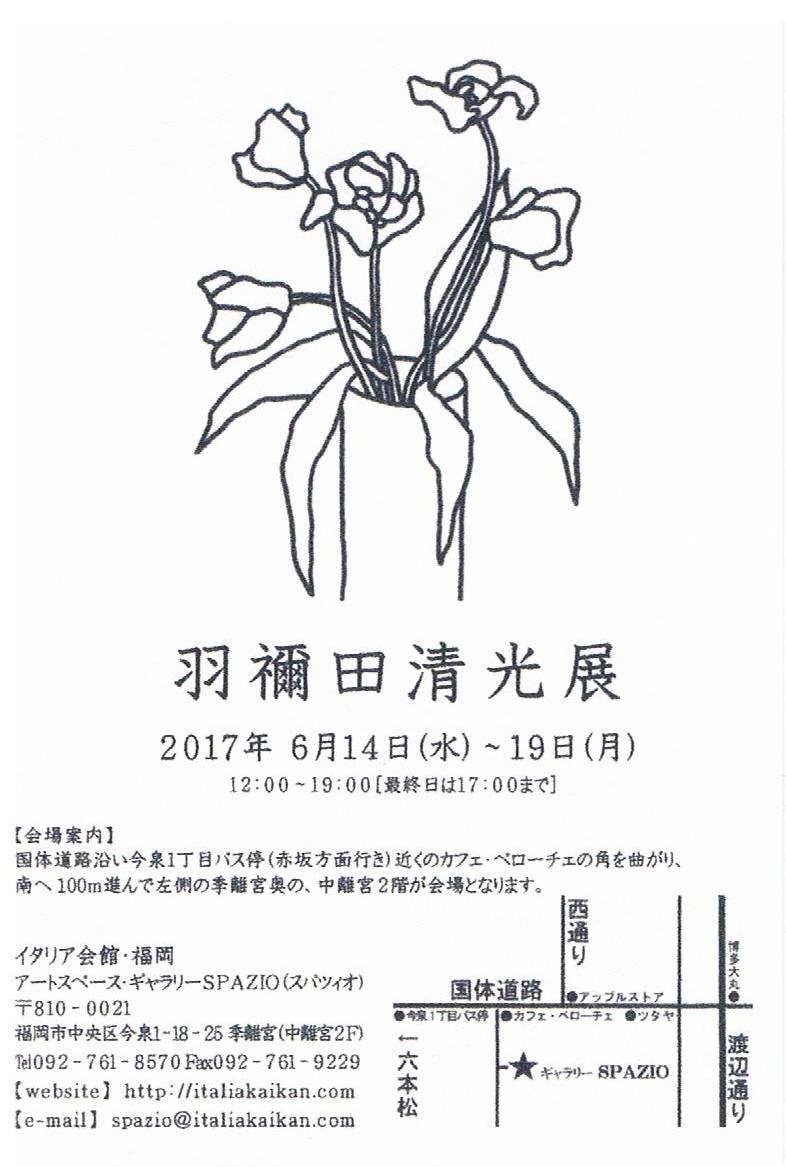 羽禰田清光 展_a0281139_12050607.jpg