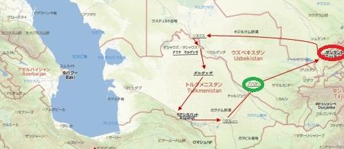 トルクメニスタンの旅(22) 最後に タシケント観光、そして帰国_c0011649_22104816.jpg