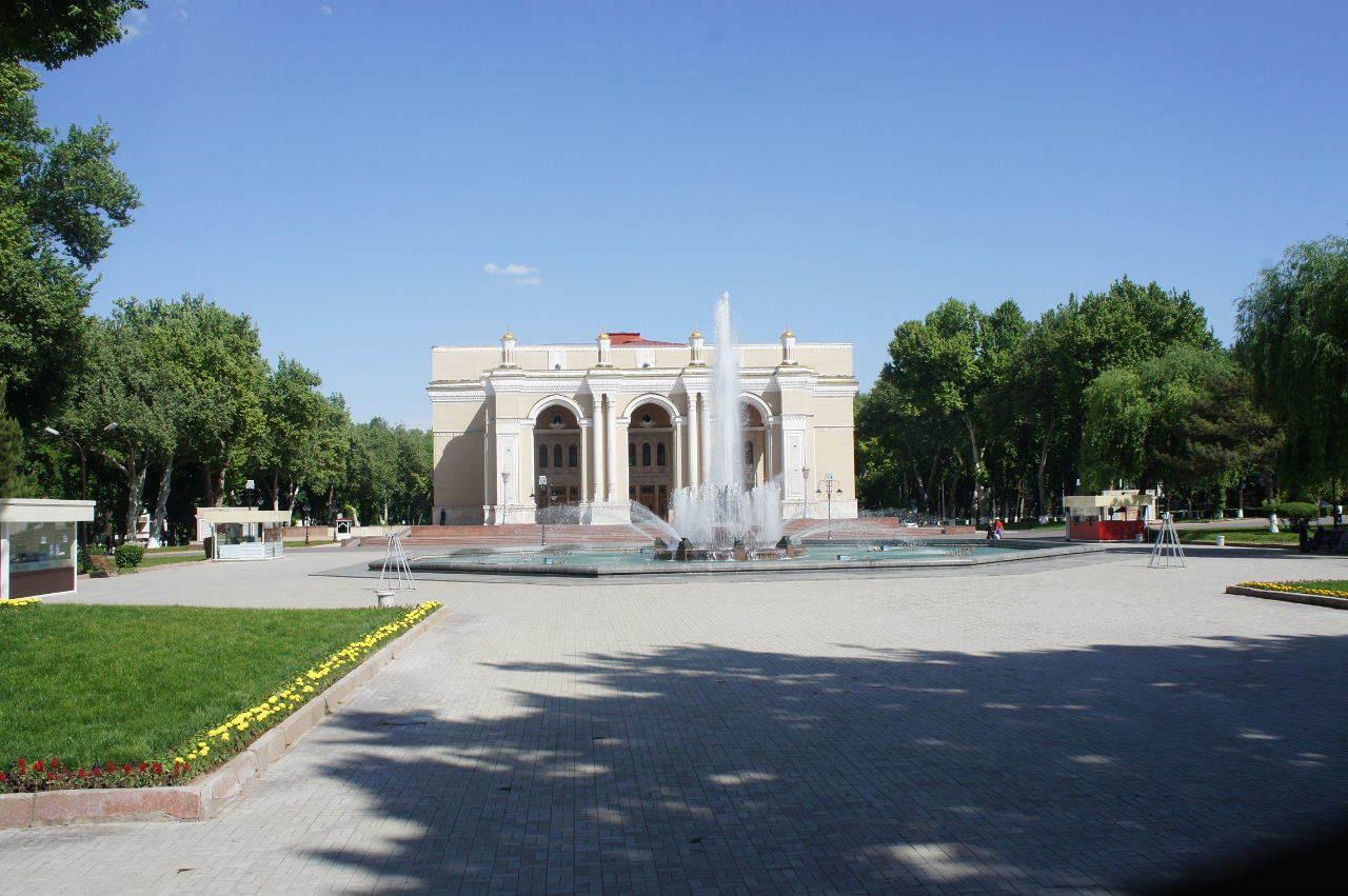 トルクメニスタンの旅(22) 最後に タシケント観光、そして帰国_c0011649_23495851.jpg