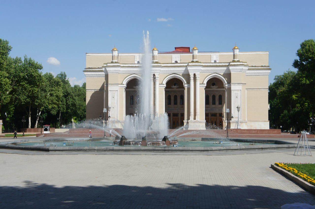 トルクメニスタンの旅(22) 最後に タシケント観光、そして帰国_c0011649_23502795.jpg