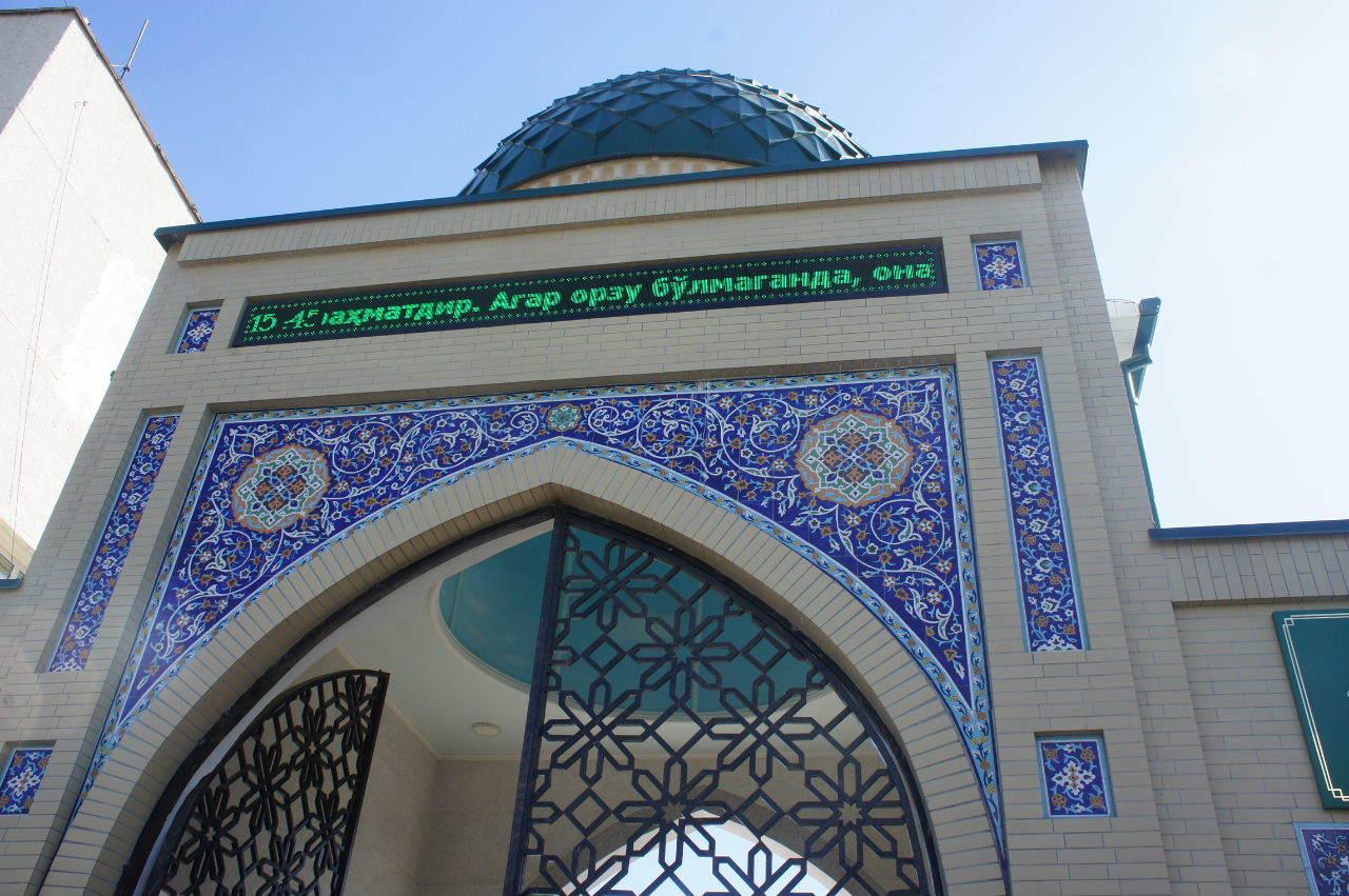 トルクメニスタンの旅(22) 最後に タシケント観光、そして帰国_c0011649_23564350.jpg
