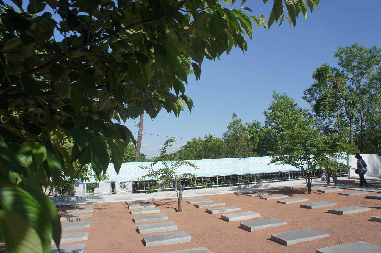 トルクメニスタンの旅(22) 最後に タシケント観光、そして帰国_c0011649_23584418.jpg
