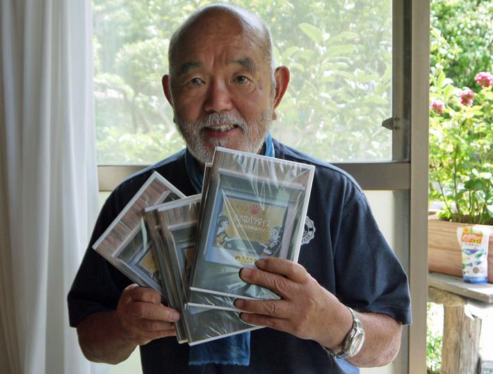 完成した大井町DVD携え来北鎌倉:石井団長ジオラマ制作報告4_c0014967_9221281.jpg