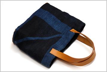 大麻布、南部麻の型染めのバッグ ~過去の作品から~_d0221430_19572193.jpg