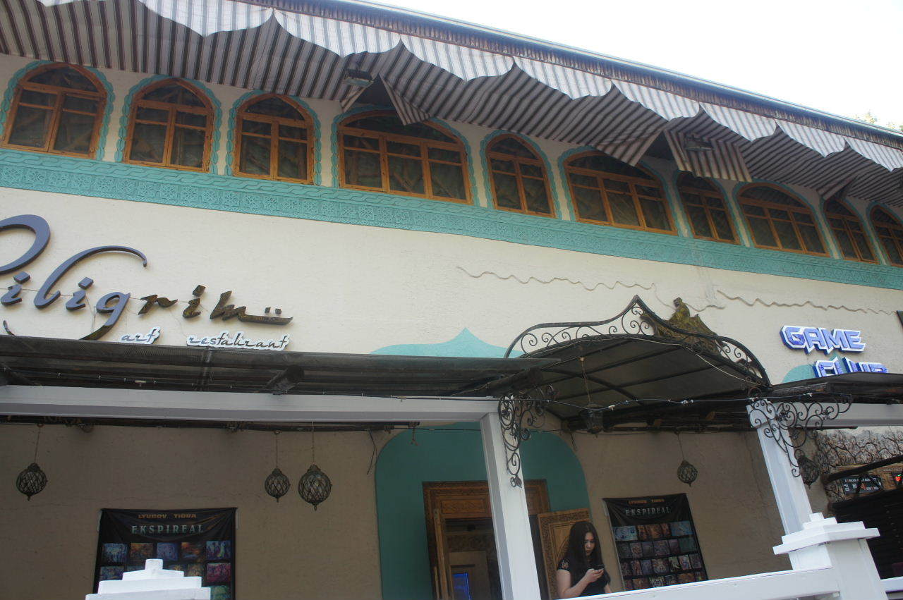 トルクメニスタンの旅(22) 最後に タシケント観光、そして帰国_c0011649_00023920.jpg
