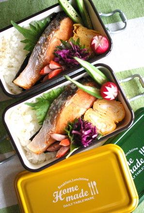 今日の海苔鮭弁当とお弁当作りのコツ_d0327373_07314648.jpg