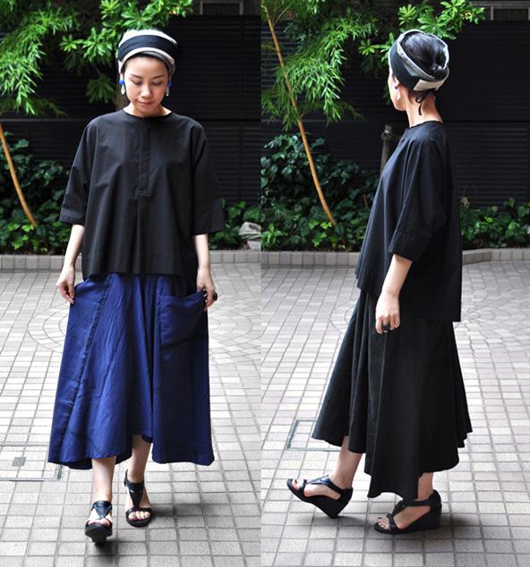 チョタンスカートのベーシックカラーが入荷致しました / tamaki niime_d0193211_18362448.jpg